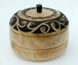 Carved Pot by Gordon Angier - click for full size image