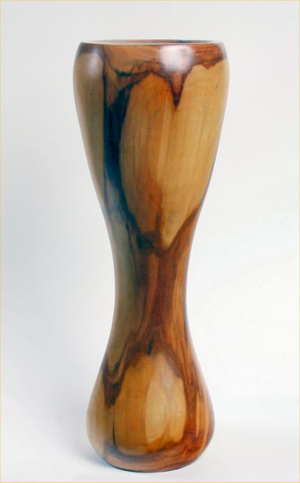 Vase in Victoria Plum by Chris Richards
